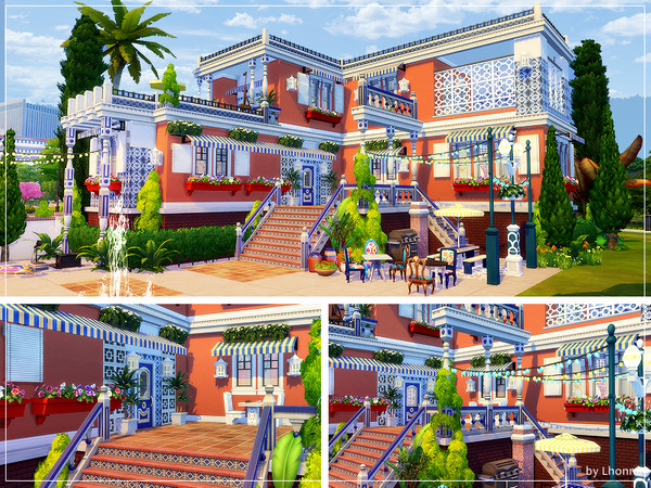 Sims 4 Boho In Town by Lhonna at TSR