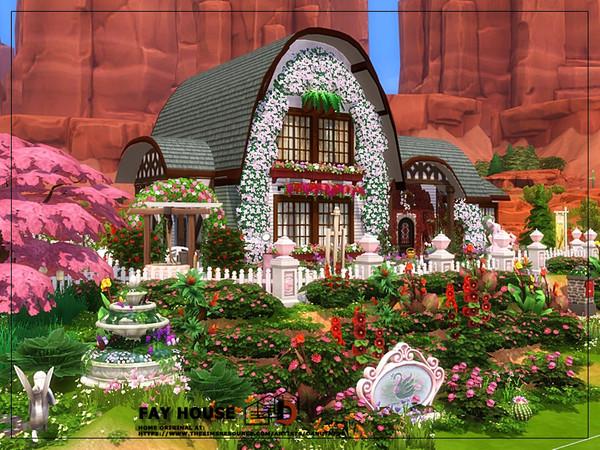 Fay house by Danuta720 at TSR image 2733 Sims 4 Updates