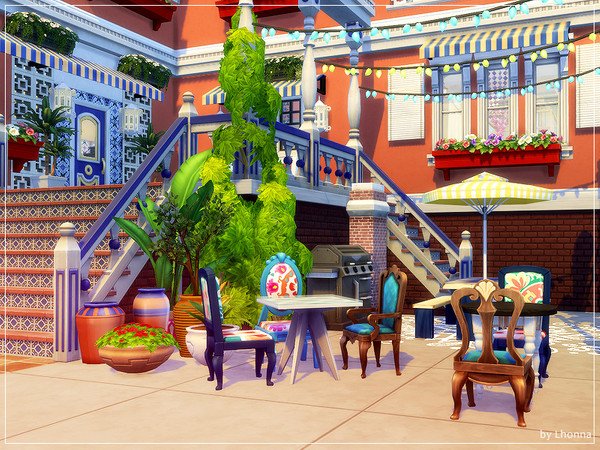 Boho In Town by Lhonna at TSR image 2831 Sims 4 Updates