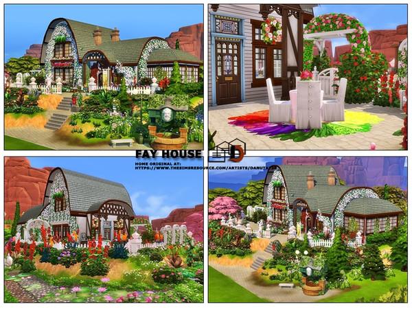Fay house by Danuta720 at TSR image 2832 Sims 4 Updates