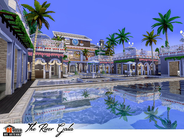 The River Gala by autaki at TSR image 3022 Sims 4 Updates