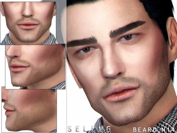 Sims 4 Beard N14 by Seleng at TSR