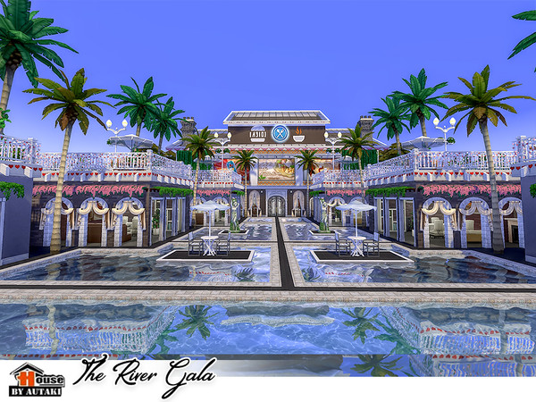 The River Gala by autaki at TSR image 3127 Sims 4 Updates