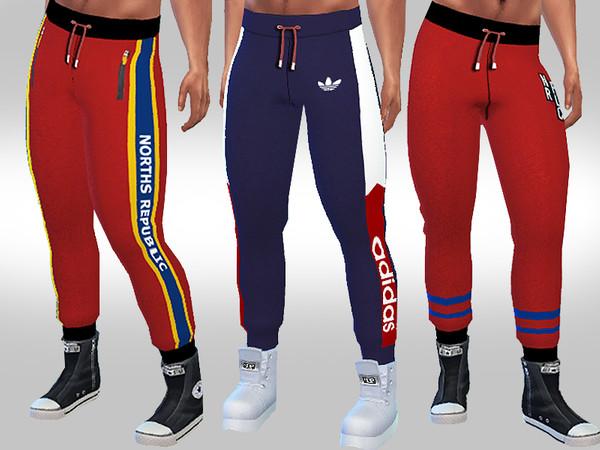 Sims 4 Athletic Joggers M by Saliwa at TSR