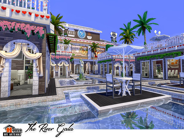 The River Gala by autaki at TSR image 3224 Sims 4 Updates