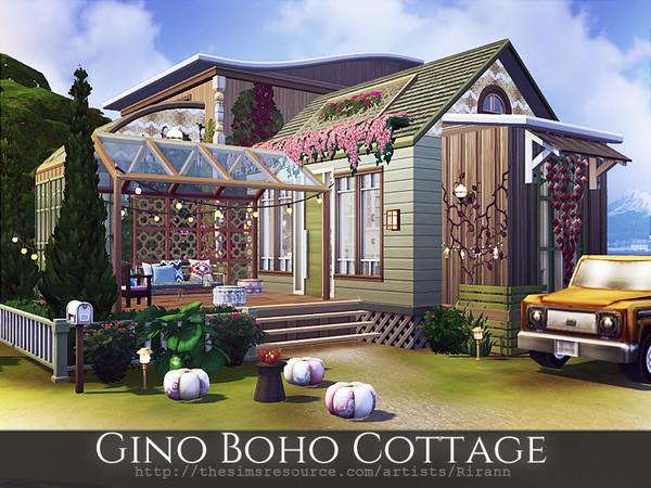 Gino Boho Cottage by Rirann at TSR image 326 Sims 4 Updates