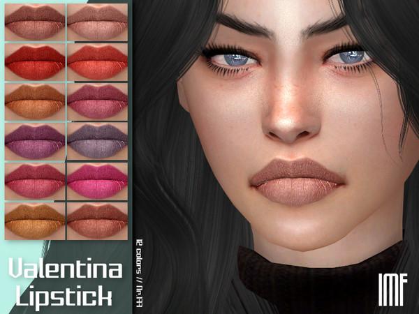 Sims 4 IMF Valentina Lipstick N.177 by IzzieMcFire at TSR