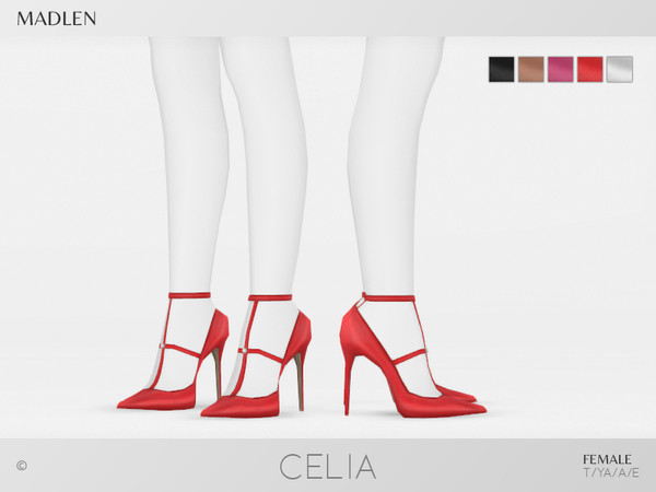 Madlen Celia Shoes by MJ95 at TSR image 3318 Sims 4 Updates