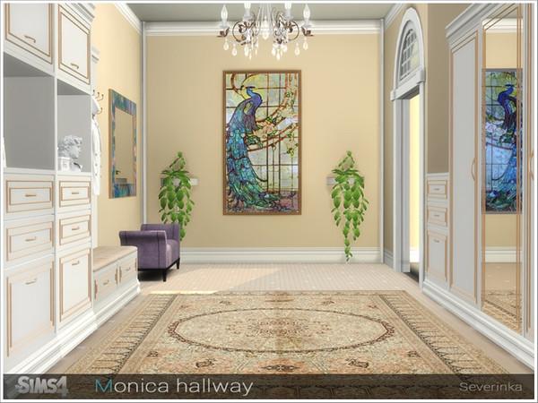 Monica hallway by Severinka at TSR image 3417 Sims 4 Updates