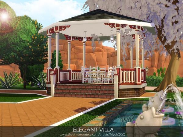 Elegant Villa by MychQQQ at TSR image 3423 Sims 4 Updates
