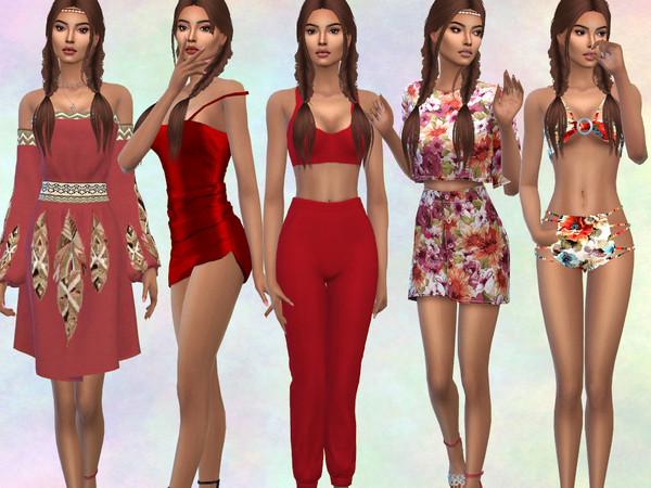 Sims 4 Flora Longo by divaka45 at TSR