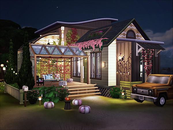 Gino Boho Cottage by Rirann at TSR image 346 Sims 4 Updates