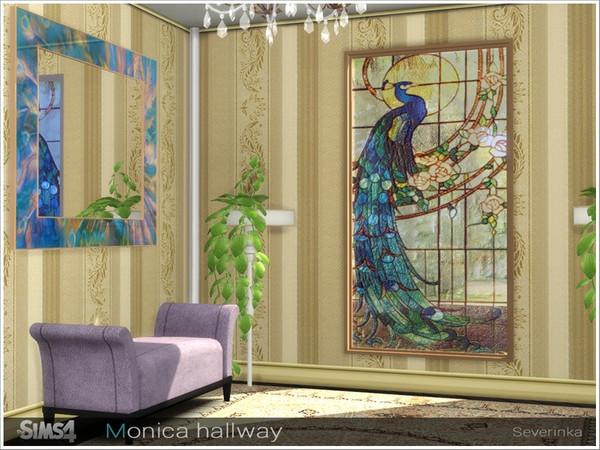 Monica hallway by Severinka at TSR image 3516 Sims 4 Updates