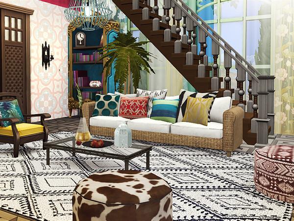 Gino Boho Cottage by Rirann at TSR image 355 Sims 4 Updates