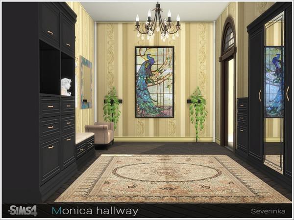Monica hallway by Severinka at TSR image 3616 Sims 4 Updates