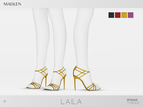Madlen Laila Shoes by MJ95 at TSR image 378 Sims 4 Updates