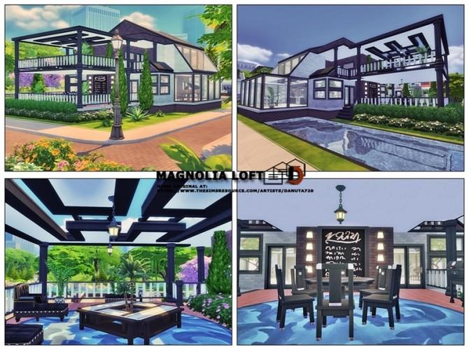 Magnolia Loft by Danuta720 at TSR image 390 670x503 Sims 4 Updates
