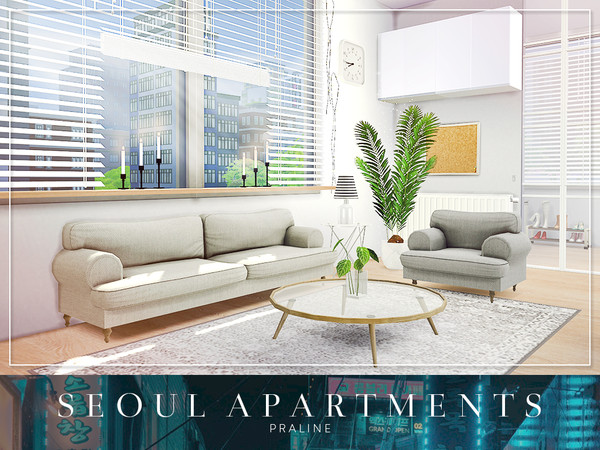 Seoul Apartments by Pralinesims at TSR image 3920 Sims 4 Updates