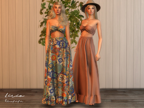Lirio Boho outfit by laupipi at TSR image 393 Sims 4 Updates