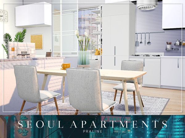 Seoul Apartments by Pralinesims at TSR image 4020 Sims 4 Updates