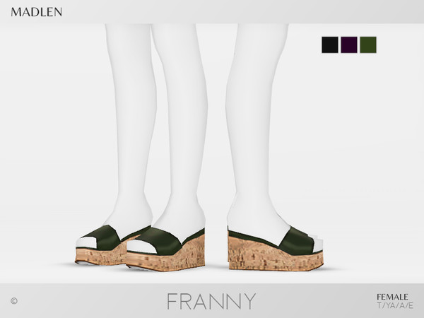 Sims 4 Madlen Franny Shoes by MJ95 at TSR