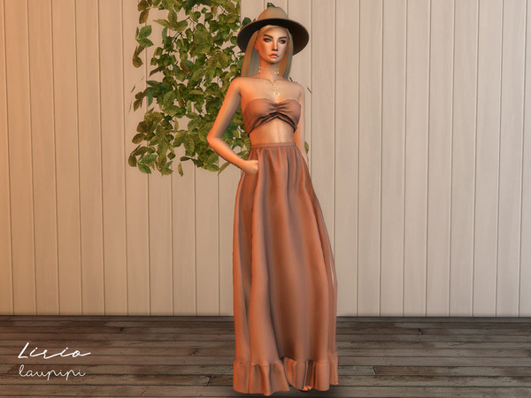 Lirio Boho outfit by laupipi at TSR image 403 Sims 4 Updates