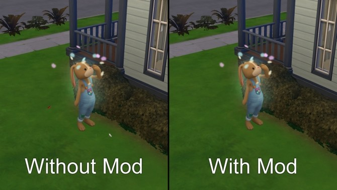 Flower bunny scatter petals not spawning flowers by Szemoka at Mod The Sims image 409 670x378 Sims 4 Updates