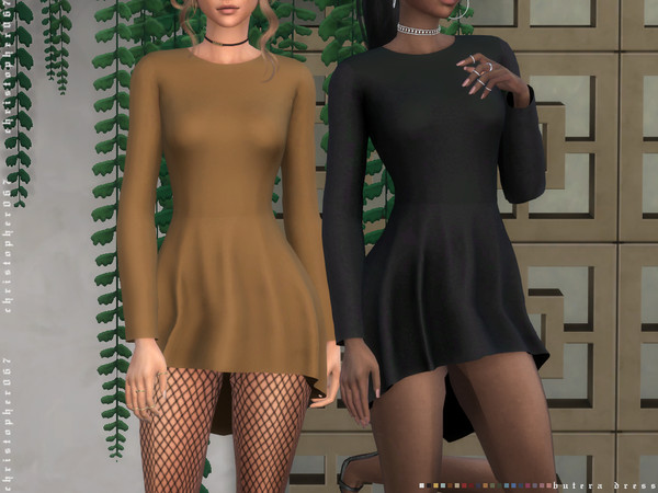 Butera Dress by Christopher067 at TSR image 4118 Sims 4 Updates
