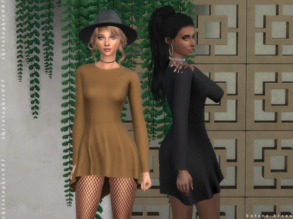Butera Dress by Christopher067 at TSR image 4215 Sims 4 Updates