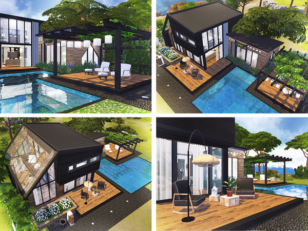 Sims 4 Feliks house by Rirann at TSR