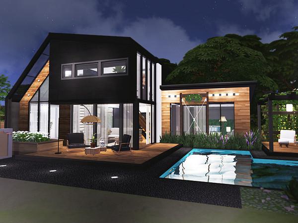 Feliks house by Rirann at TSR image 4320 Sims 4 Updates
