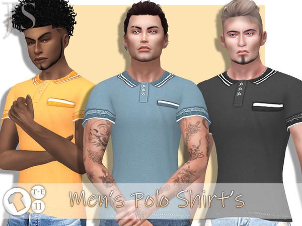 Sims 4 Mens Polo Shirts by JavaSims at TSR