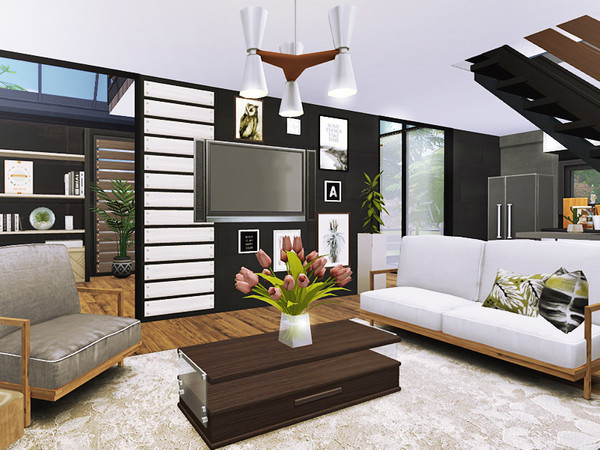 Feliks house by Rirann at TSR image 4419 Sims 4 Updates