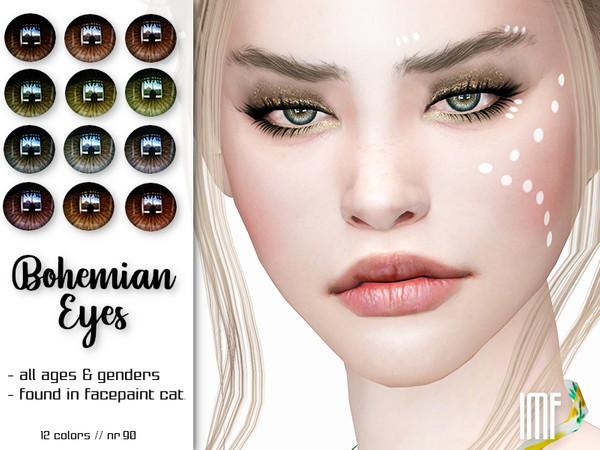 Sims 4 IMF Bohemian Eyes N.90 by IzzieMcFire at TSR