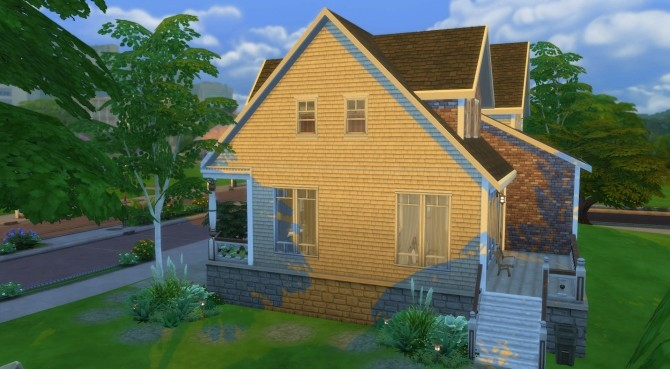 Sims 4 Country Grove house by PolarBearSims at Mod The Sims