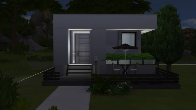Sims 4 MODERN 8X8 Starter Home by LordLevy at Mod The Sims
