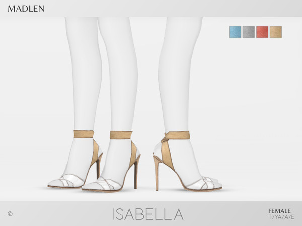Madlen Isabella Shoes by MJ95 at TSR image 4813 Sims 4 Updates
