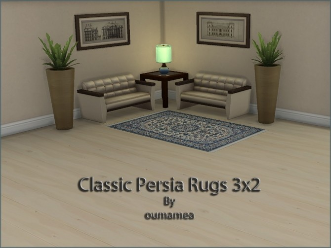 Classic Persian Rugs 3x2 by oumamea at Mod The Sims image 4815 670x503 Sims 4 Updates