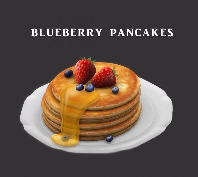 Blueberry Pancakes at Leo Sims image 4818 670x600 Sims 4 Updates