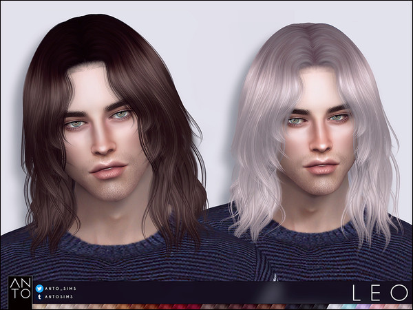 Sims 4 Leo Hair by Anto at TSR