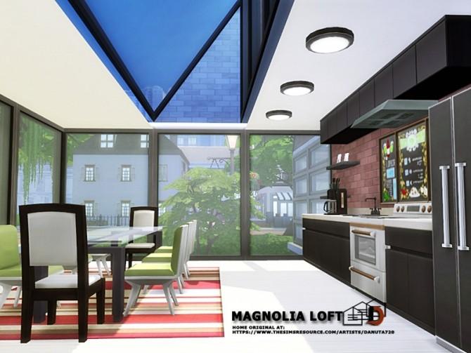 Magnolia Loft by Danuta720 at TSR image 490 670x503 Sims 4 Updates