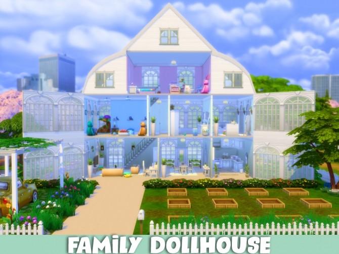 Sims 4 Family Dollhouse at MSQ Sims