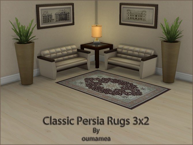 Classic Persian Rugs 3x2 by oumamea at Mod The Sims image 4915 670x503 Sims 4 Updates