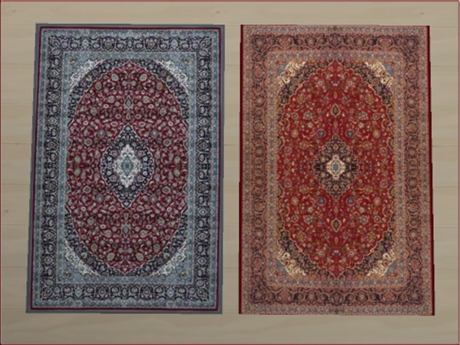 Classic Persian Rugs 3x2 by oumamea at Mod The Sims image 5015 670x503 Sims 4 Updates