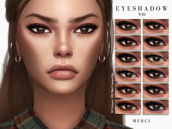 Sims 4 Eyeshadow N10 by Merci at TSR