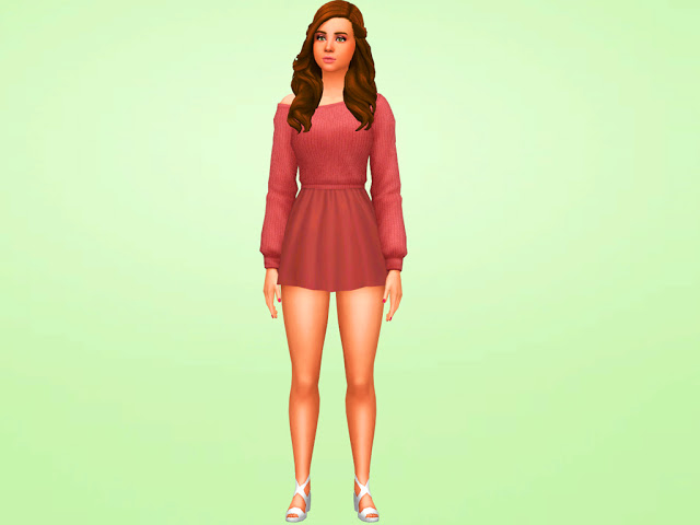 Sims 4 Baby Ariel MakeOver at MSQ Sims