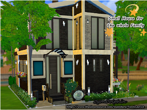 Small House for the whole Family by Tontin2018 at TSR image 5414 Sims 4 Updates