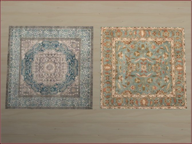 Square rugs 3x3 by oumamea at Mod The Sims image 5416 670x503 Sims 4 Updates