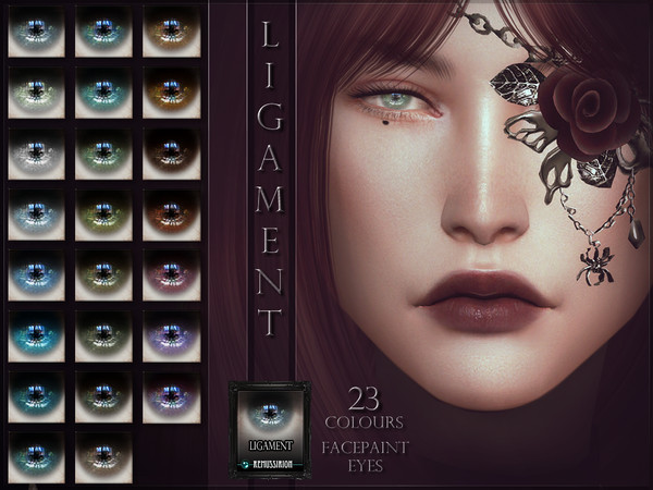 Sims 4 Ligament Eyes by RemusSirion at TSR