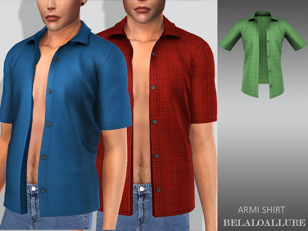 Sims 4 Belaloallure Armi shirt by belal1997 at TSR